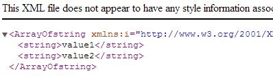 WEB API Sonuç