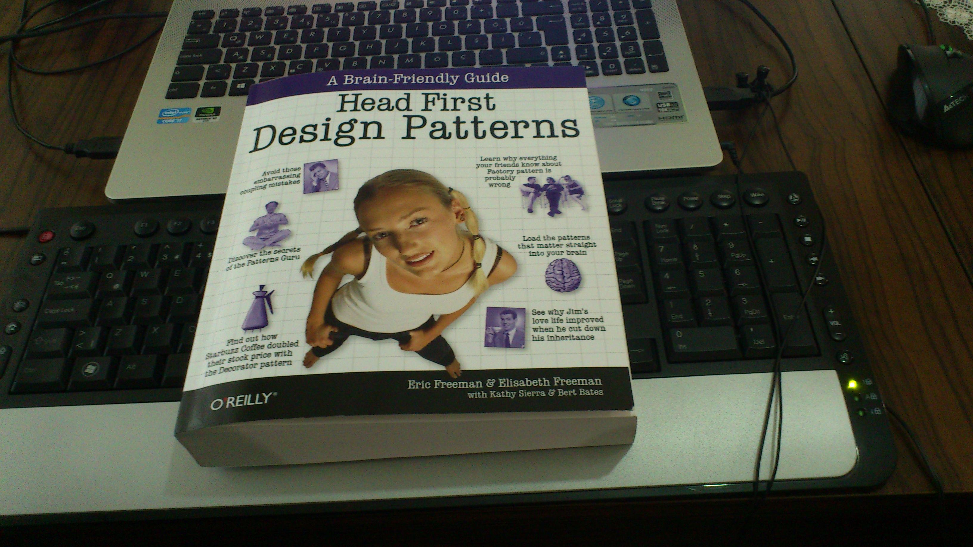 Kitap – Head First Design Patterns   Bayram Üçüncü