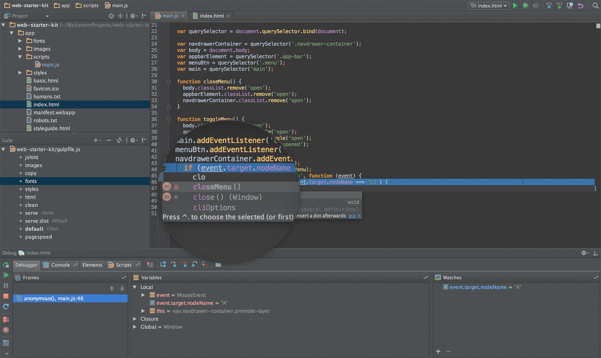 Javascript Ide Mac